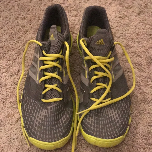 meet 159ad 93938 adidas Other - Gray and Lime Green Adidas Adipure TR 360 sz 10.5